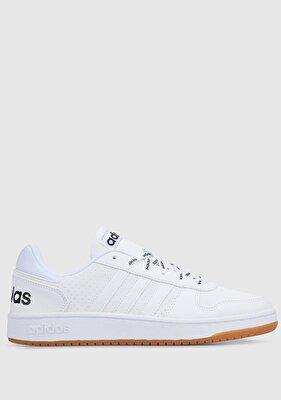 Resim Hoops 2.0 Beyaz Erkek Basketbol Ayakkabısı Fy8630