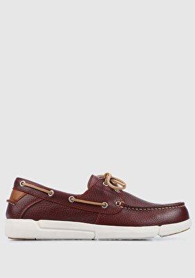 Resim Bordo Erkek Ayakkabı