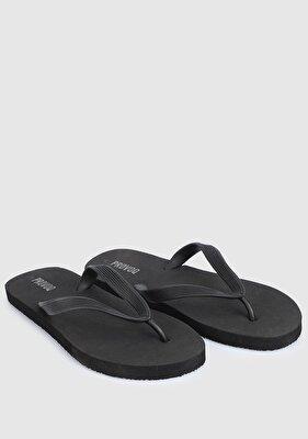 Resim Siyah Erkek Plaj Terliği