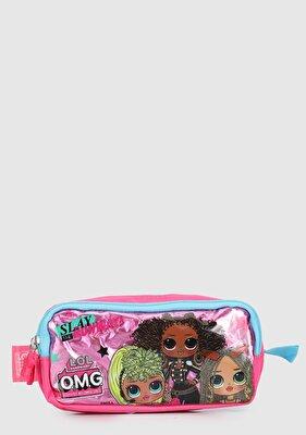 Resim Pembe Kız Çocuk Kalem Kutusu