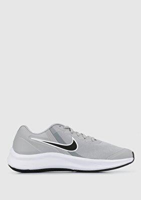 Resim Star Runner 3 Gri Unisex Spor Ayakkabısı DA2776-005