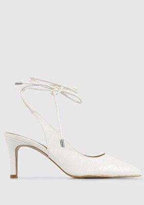 Resim Kırık Beyaz Kadın Ayakkabı