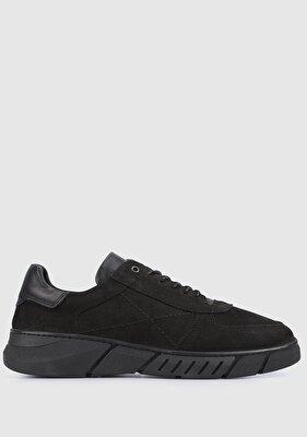 Resim Siyah Deri Erkek Casual Ayakkabı