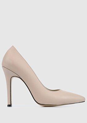 Resim Vizon Deri Kadın Ayakkabı
