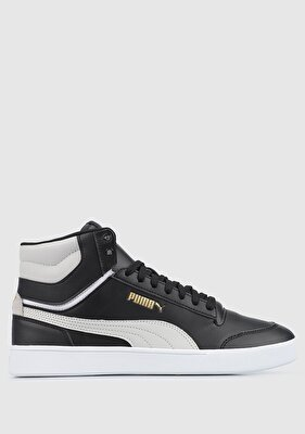 Resim 38074802 Puma Shuffle Mid Puma Black-Gray Violet-