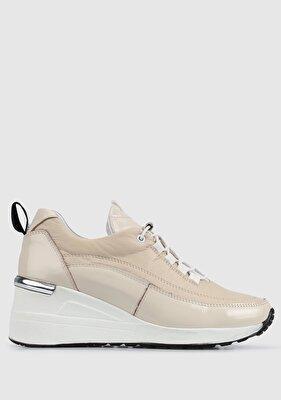 Resim Bej Kadın Sneaker