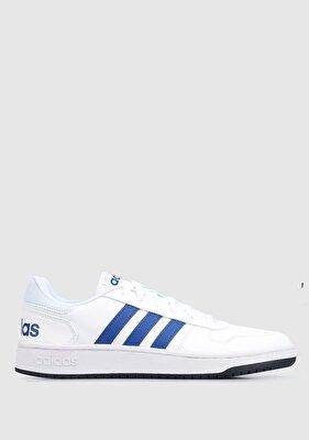 Resim Hoops 2.0 Beyaz Erkek Basketbol Ayakkabısı GZ7967
