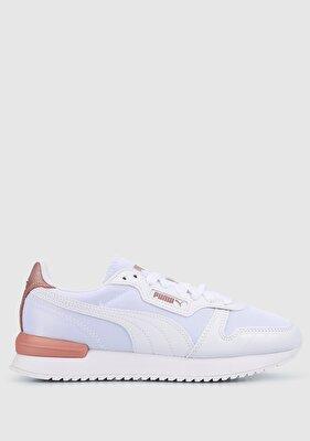 Resim R78 Wns Metallic Beyaz Kadın Spor Ayakkabısı 38107003