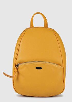 Resim Sarı Kadın Sırt Çantası